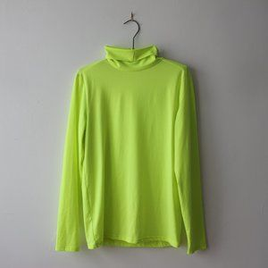 Neon Yellow Turtleneck